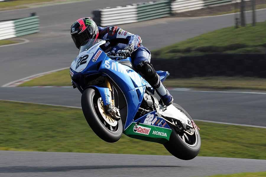 British Super Bikes rider Alex Lowes