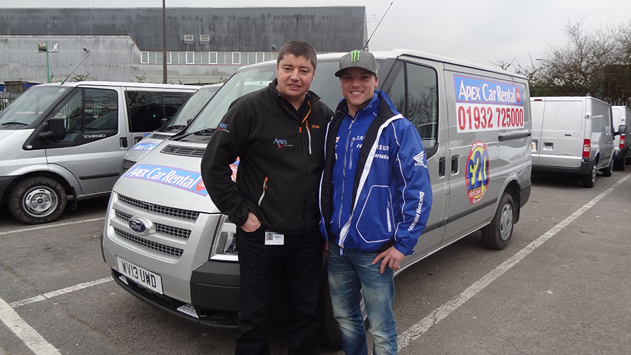 Apex Sponsor Alex Lowes